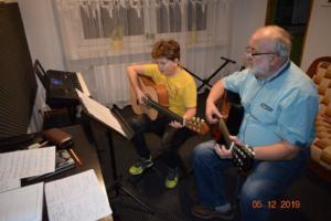 Nauka gry na gitarze Szkoła Września 2019 10