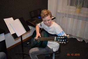 Nauka gry na gitarze Szkoła Września 2019 2
