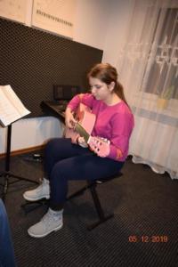 Nauka gry na gitarze Szkoła Września 2019 6