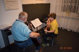 Nauka gry na gitarze Szkoła Września 2019 9