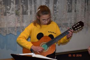 Nauka gry na gitarze Szkoła Muzyczna Września 2019 09