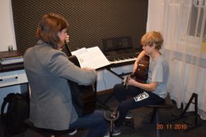 Lekcje gry na gitarze XI 2019 Szkoła Muzyczna Effect we Wrześni 24