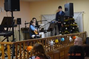 Koncert Dzień Babci i Dziadka 24 I 2020 Szkoła Muzyczna Effect we Wrześni 021