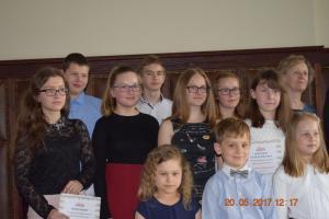 Konkurs o laurdzieci wrzesińskich 20.05.2017 szkoła muzyczna effect 34
