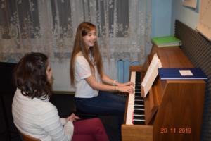 Nauka gry na pianinie Szkoła Muzyczna Effect we Wrześni 201906