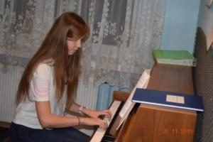Nauka gry na pianinie Szkoła Muzyczna Effect we Wrześni 201911