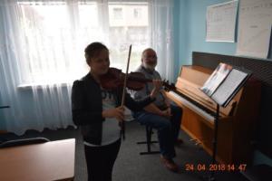 Lekcje gry na skrzypcach Szkoła Muzyczna Effect we Wrześni 12