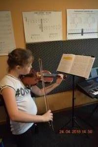 Lekcje gry na skrzypcach Szkoła Muzyczna Effect we Wrześni 13