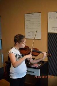 Lekcje gry na skrzypcach Szkoła Muzyczna Effect we Wrześni 15