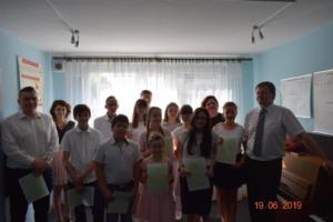 Zakończenie roku szkolnego 2018 2019 Szkoła Muzyczna Effect 02