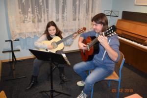 Nauka gry na gitarze Szkoła Muzyczna Września 2019 07