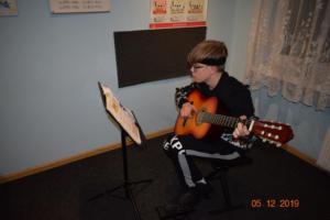 Nauka gry na gitarze Szkoła Muzyczna Września 2019 19