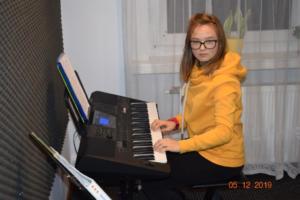 Nauka gry na keyboardzie Szkoła Muzyczna Effect we Wrześni 2019 2
