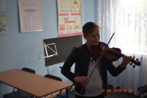 Lekcje gry na skrzypcach Szkoła Muzyczna Effect we Wrześni 06